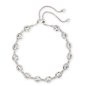 Kendra Scott silver Charlize bracelet